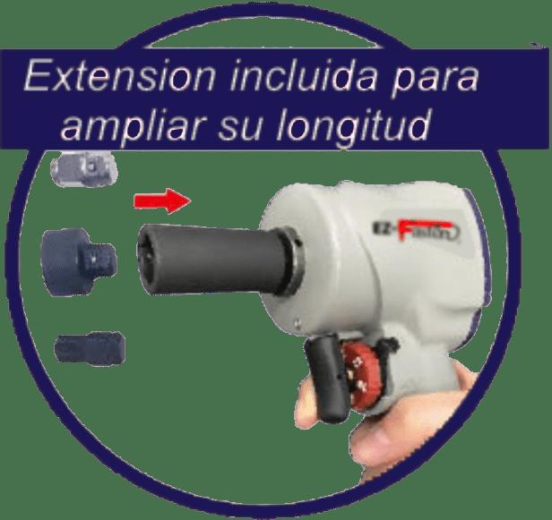 LL 502 R Llave de Impacto Alargador