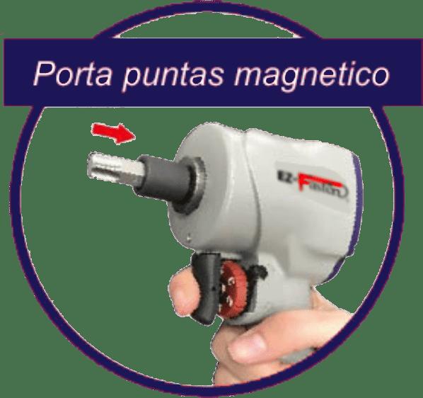 LL 502 R Llave de Impacto Portapuntas Magnetico