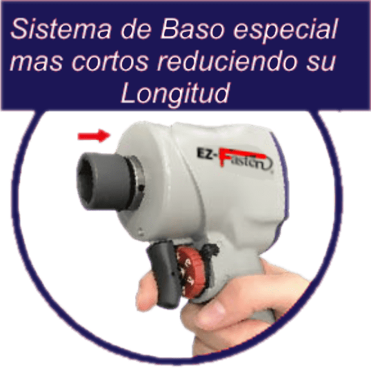 LL 502 R Llave de Impacto Vasos Cortos