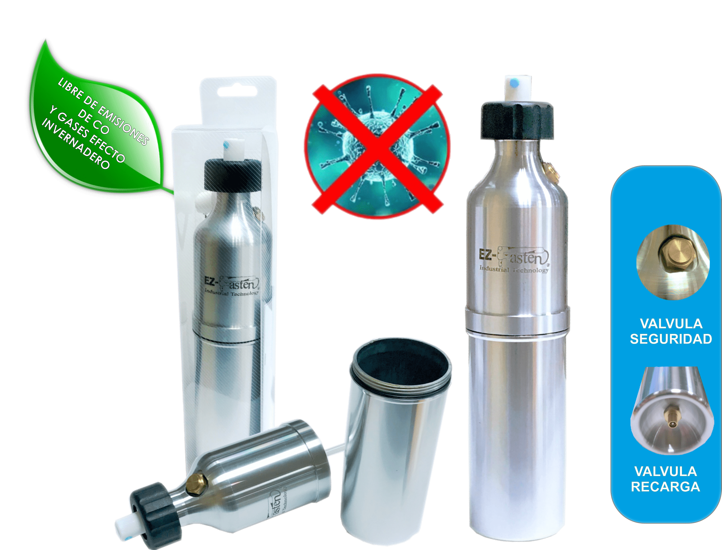 Spray EZ-Fasten Covid